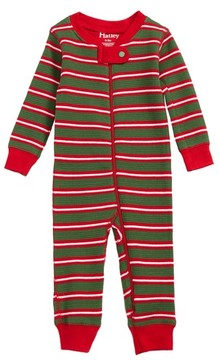 Hatley Infant Waffle Knit Organic Cotton Fitted One-Piece Pajamas