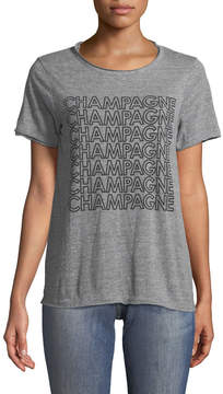 Chaser Crewneck Heather Champagne Tee