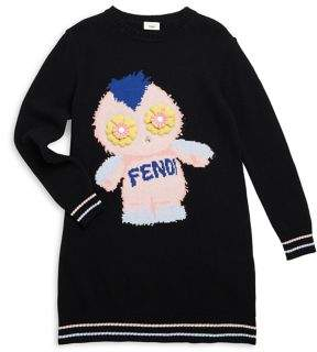 Fendi Toddler's, Little Girl's and Girl's Intarsia Dress