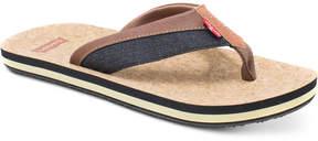 Levi's Men's Vista Cork Flip Flops Men's Shoes