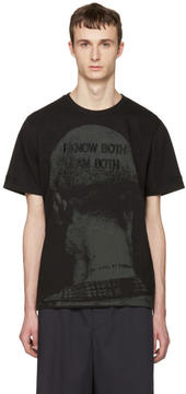 Juun.J Black I Know Both I Am Both T-Shirt