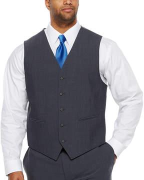 Claiborne Classic Fit Suit Vest - Big and Tall