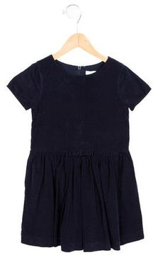 Jacadi Girls' Corduroy Short Sleeve Dress