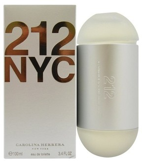 Carolina Herrera 212 by Eau de Toilette Women's Spray Perfume - 3.4 fl oz