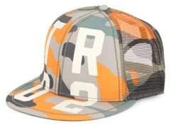 True Religion Camo-Print Basketball Cap