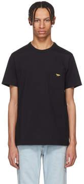 MAISON KITSUNÉ SSENSE Exclusive Black Fox Pocket T-Shirt