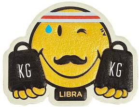 Anya Hindmarch ANYA HINDMARCH WOMEN'S LIBRA SMILEY STICKER