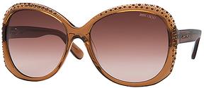 Safilo USA Jimmy Choo Lu Round Sunglasses