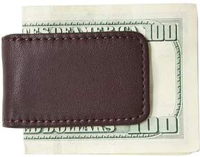 Royce Leather Classic Magnetic Money Clip with Suede Lining in Genuine Leather
