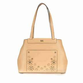 Michael Kors Meredith Medium Leather Tote- Butternut - BUTTERNUT - STYLE