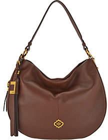Oryany Pebble Leather & Suede Hobo Handbag -Gabriella