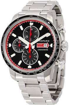 Chopard Millie Miglia Automatic Chronograph Black Dial Stainless Steel Men's Watch