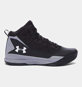 Under Armour Boys' Grade School UA Jet Mid Basketball Shoes