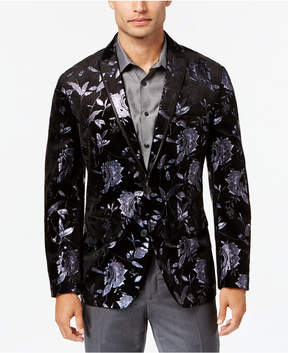 INC International Concepts Men's Slim-Fit Floral Blazer, Created for Macy's