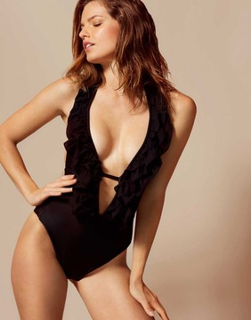 Agent Provocateur Bettina Swimsuit Black