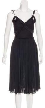Alessandro Dell'Acqua Sleeveless Ruched Dress