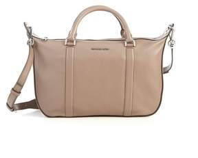 Michael Kors Raven Large Oyster Satchel Handbag - ONE COLOR - STYLE