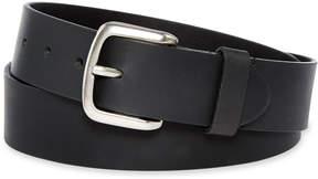 Dickies Black Leather Belt-Big & Tall