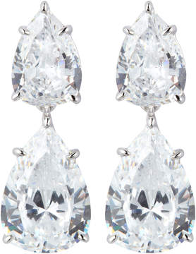 FANTASIA Double Pear-Cut Drop Earrings
