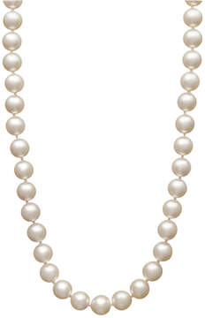 Belle de Mer Pearl Necklace, 18 14k Gold Akoya Cultured Pearl Strand (7-7-1/2mm)