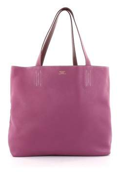 Hermes Pre-owned: Double Sens Tote Clemence 36. - PURPLE - STYLE