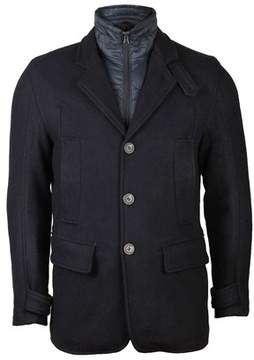 Andrew Marc Mens Albany Coat In Ink.