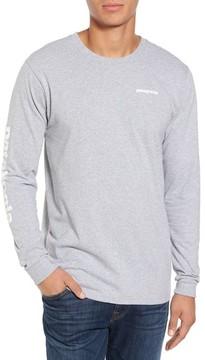 Patagonia Men's Long Sleeve Logo T-Shirt