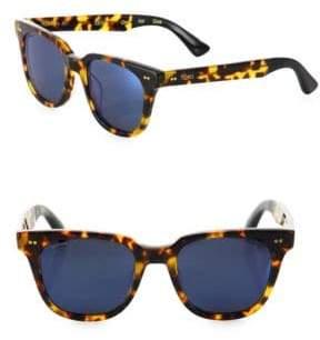Toms 50MM Memphis Square Sunglasses