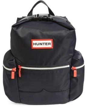 Hunter Mini Top Clip Nylon Backpack - Black
