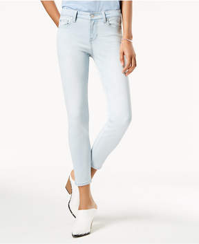 Celebrity Pink Body Sculpt by Juniors' Super Slimmer Slim Your Thigh Ankle Jeans