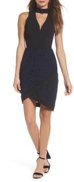 Adelyn Rae Women's Choker Sheath Dress