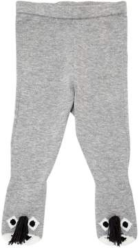 Stella McCartney Donkeys Cotton Knit Footed Legging