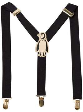 Mini Rodini Black Penguin Braces