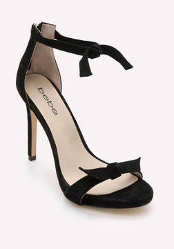 Bebe Ricki Bow Strap Sandals