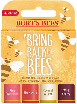 Burt's Bees Bring Back the Bees 4-Pk. Lip Balm