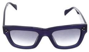 Celine Tinted Wayfarer Sunglasses