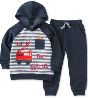 Kids Headquarters 2-Pc. Hoodie Sweatshirt & Jogger Pants Set, Toddler Boys (2T-5T)