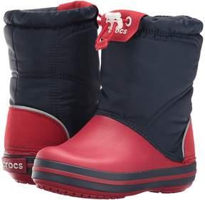 Crocs Crocband Lodge Point Boot (Toddler/Little Kid)