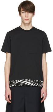 Oamc Black Palm Rib T-Shirt