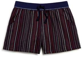 Splendid Girls' Striped Cotton Shorts - Big Kid