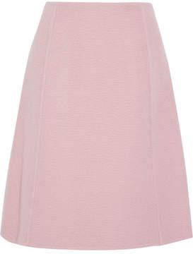 Prada - Camel Hair Skirt - Blush