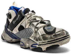 Vetements x Reebok Genetically Modified Pumps