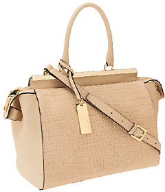 Marc Fisher Malena Leather Zip Top Satchel