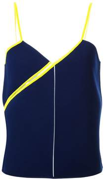Courreges twisted strap top