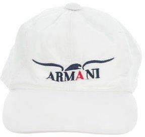 Armani Junior Boys' Embroidered Baseball Cap