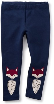 Tea Collection Infant Girl's Foxed Cozy Leggings