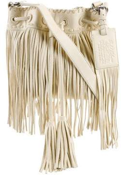 Ralph Lauren Fringed Leather Crossbody