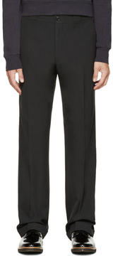 Paul Smith Grey Straight Leg Trousers