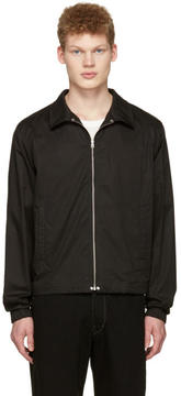 Lemaire Black Windbreaker Jacket