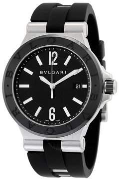 Bvlgari Diagono Automatic Black Dial Men's Watch